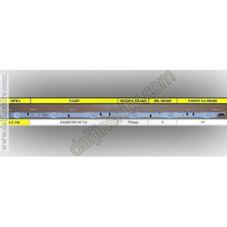 """Pozadinsko osvetljenje za SAMSUNG 40"""" L6"""