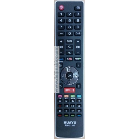 Daljinski za Hisense Smart - Netflix RM-L1365