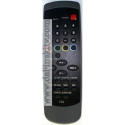 Daljinski za NEO televizor upravljac Neo 724