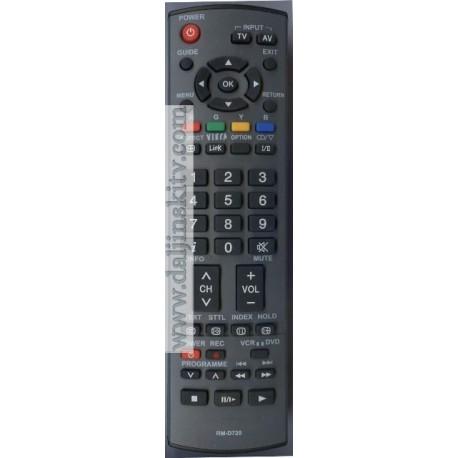 Daljinski za Panasonic LCD televizor upravljac RM-D720