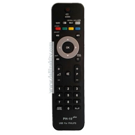 Univerzalni daljinski za Philips televizore PH-15 Lcd, Plasma i Crt televizore