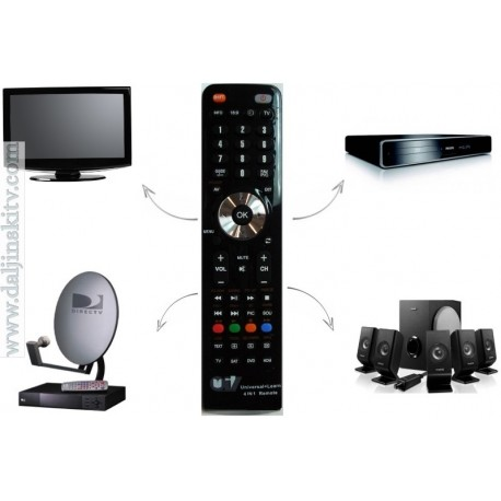 Univerzalni daljinski Tv-Lcd-Led-Plazma-Dvd-Hom