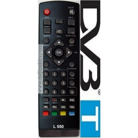Daljinski za DVB-T2 Orion