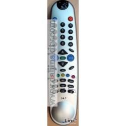 Daljinski za BEKO televizor upravljac 14.1 SILVER