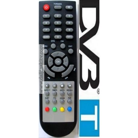 Daljinski za DVB-T2 PRACTIC