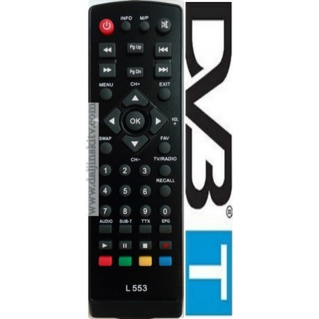 Daljinski za DVB-T2 STAR-1
