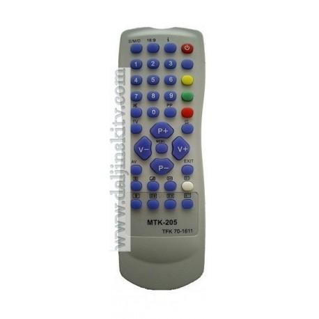 Daljinski za CROWN televizor MTK 205