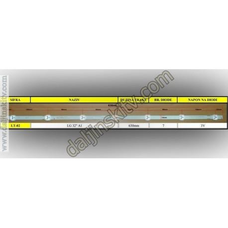 """Led trake - Pozadinsko osvetljenje za Lg 32"""" A1"""