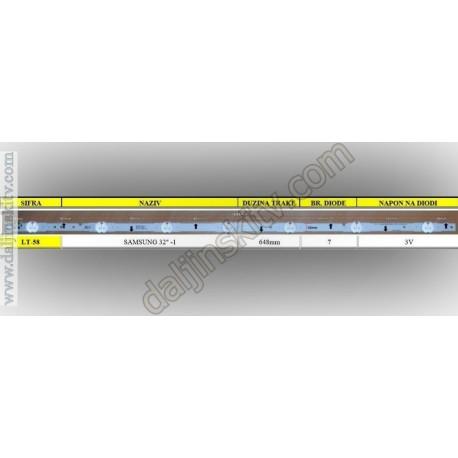 """Pozadinsko osvetljenje za SAMSUNG 32""""-1"""